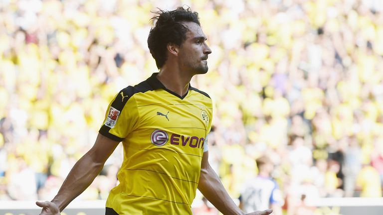 Mats Hummels left to join Bayern Munich for €35m three years ago