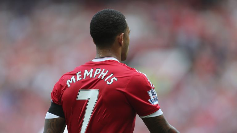 892a9cd2604 Sales of replica Memphis Depay Manchester United shirts are high