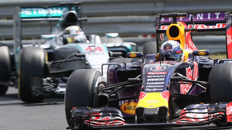 Red Bull have slipped a long way behind Mercedes in F1's latest era
