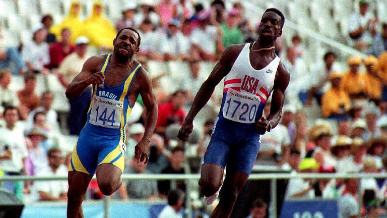 Johnson won eight World Championship gold medals and four Olympic gold medals during his athletics career