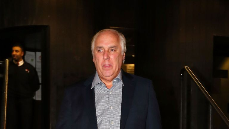 Neville Neville, father of former footballers Gary and Phil and England netball coach Tracey