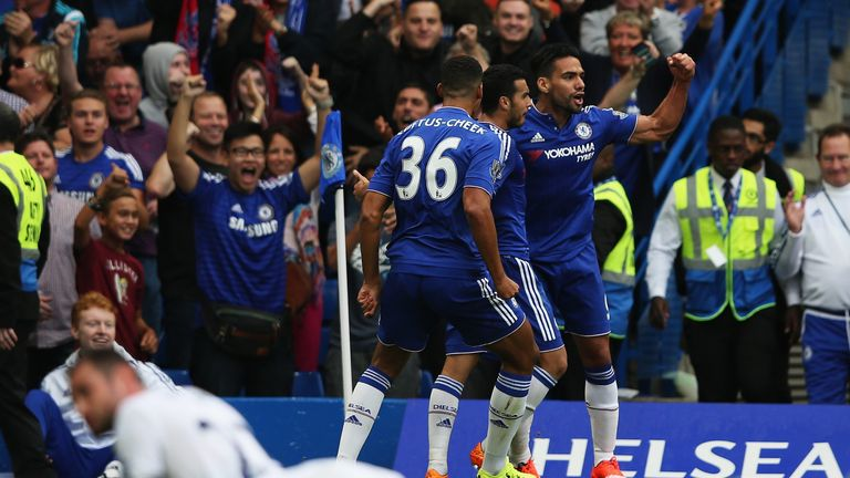 Falcao has scored just one goal for Chelsea