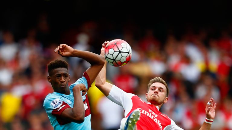 Oxford made his debut for West Ham on the opening day of last season against Arsenal