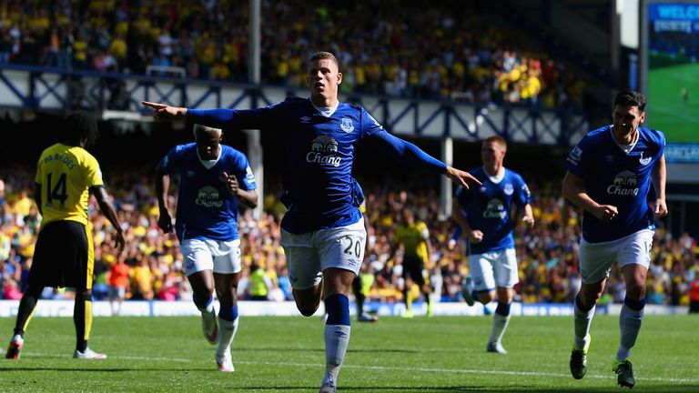 Ross Barkley scored Everton's equaliser with a stunning drive