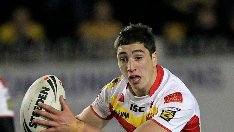 Catalans' Tony Gigot touched down twice for France