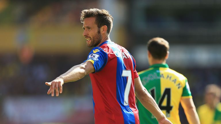 Yohan Cabaye has made an instant impact for Crystal Palace