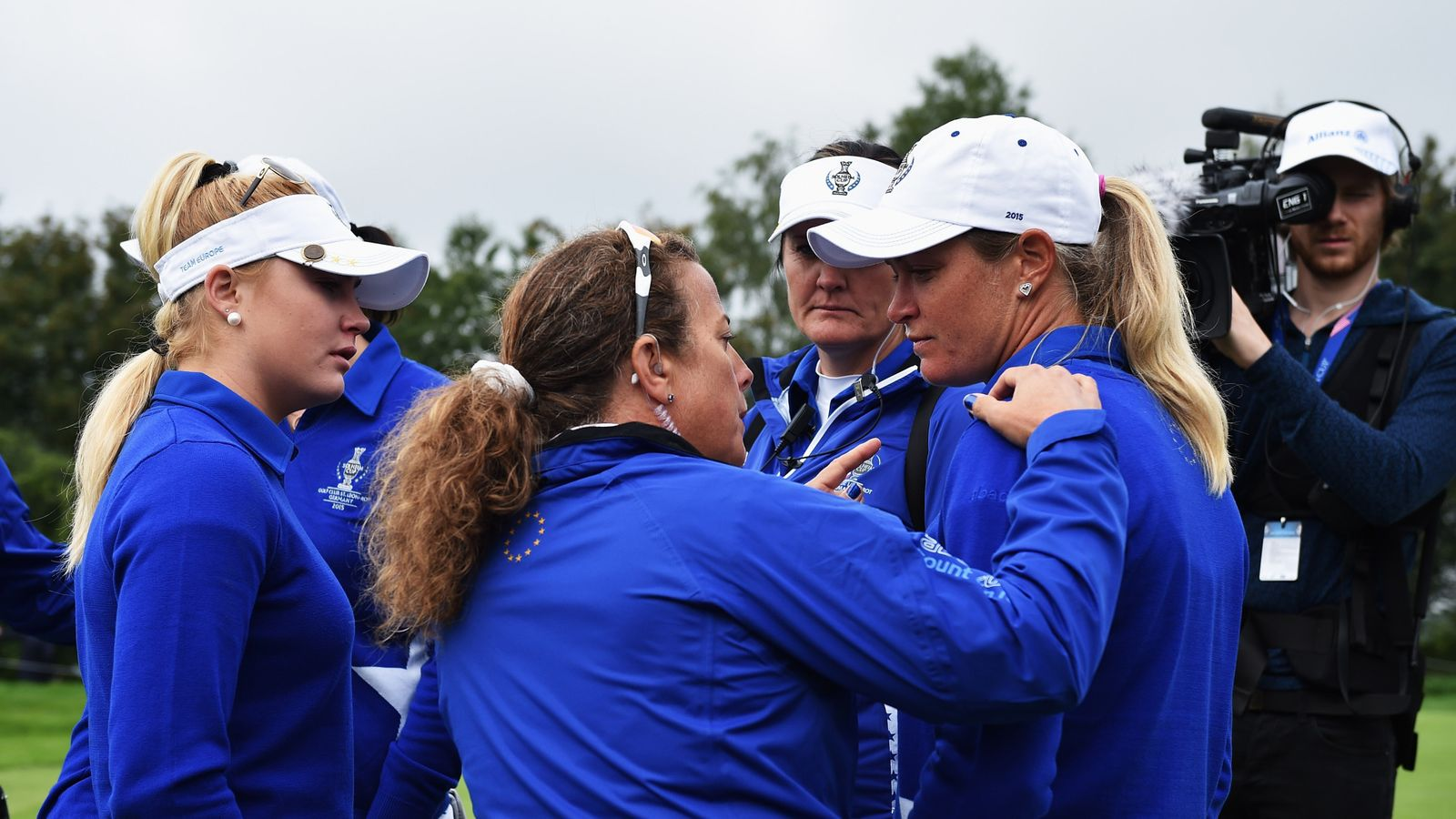 Suzann Pettersen Sorry For Conduct Against Usa At Solheim Cup Golf News Sky Sports