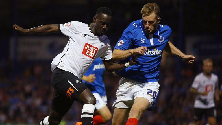 Matt Clarke (r): Will make his Portsmouth move permanent