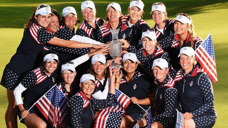 Team USA celebrate a monumental victory