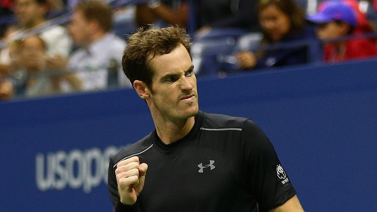 Andy Murray will take on Kevin Anderson for a place in the US Open quarter-finals