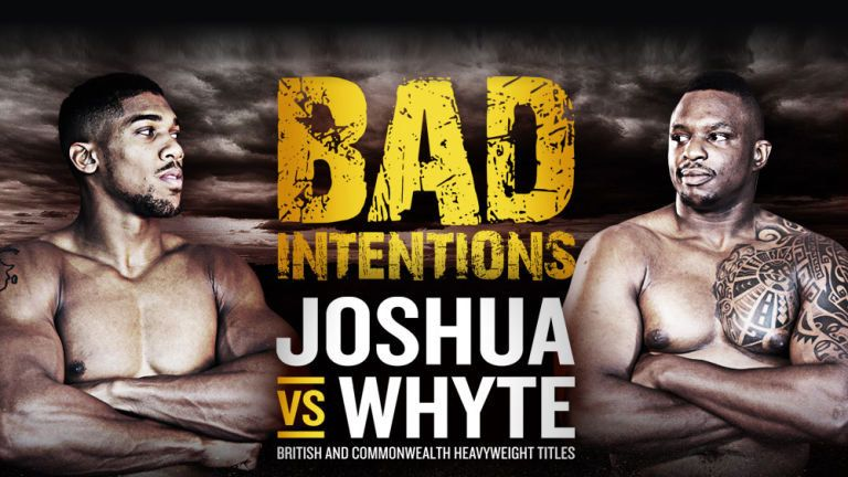 Anthony Joshua v Dillian Whyte is on at The O2 this winter