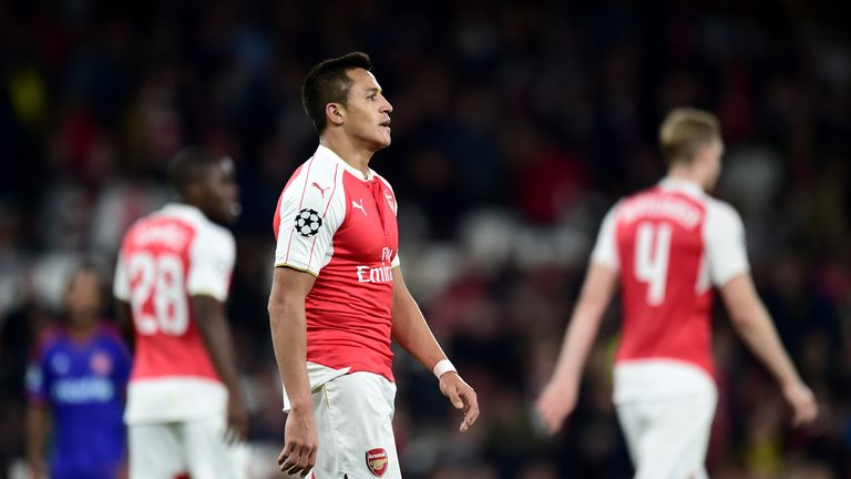 Arsenal suffered a shock Champions League defeat at home by Olympiakos