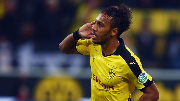 Pierre-Emerick Aubameyang has been linked with a move away from Dortmund