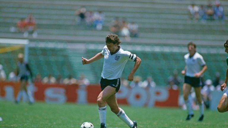 Bryan Robson was a talismanic midfielder for England