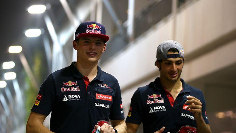 Max Verstappen and Carlos Sainz: Team orders dispute