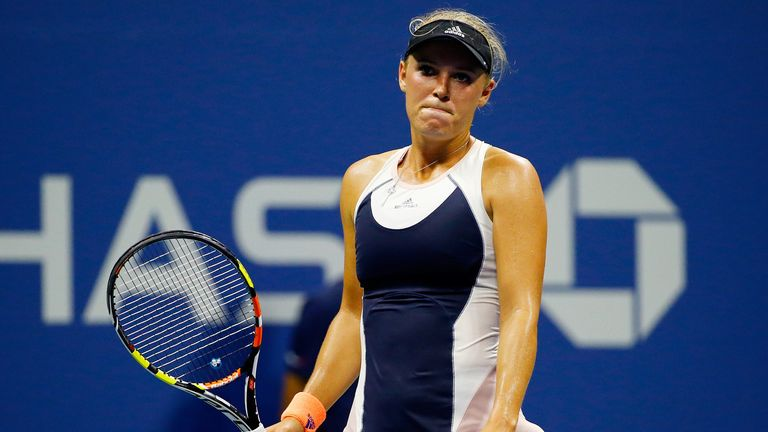 Caroline Wozniacki let four match points slip away