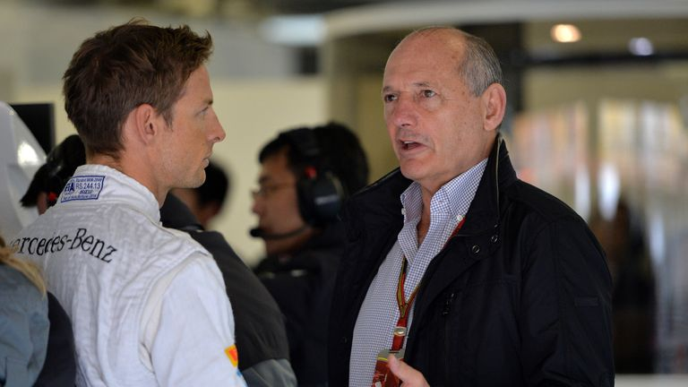 Jenson Button says talks with Ron Dennis showed the McLaren chairman was determined to return the team to the forefront of F1