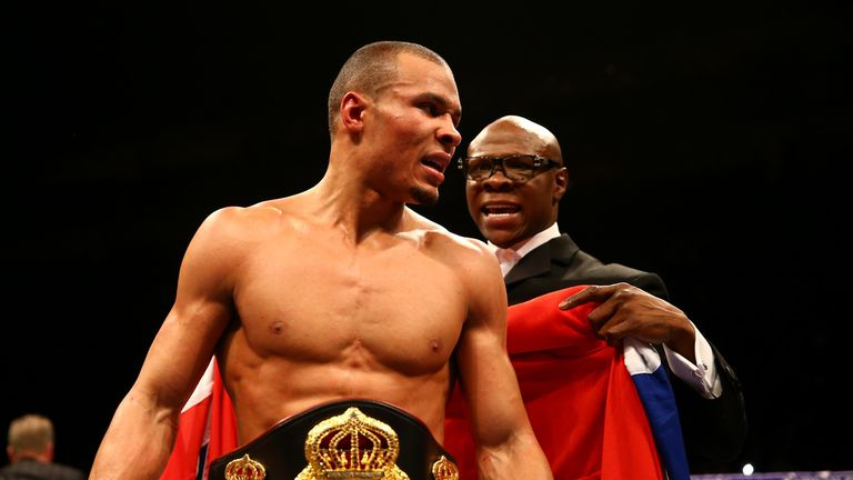 Chris Eubank Jnr  has been inspired by Floyd Mayweather