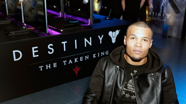 Chris Eubank Jr was speaking at the launch of Destiny: The Taken King on PS4.