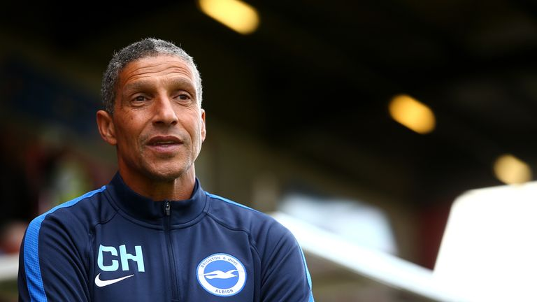 Chris Hughton watched his Brighton side draw at Sheffield Wednesday