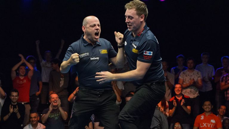 Darren Appleton (left) will partner Mark Gray for England