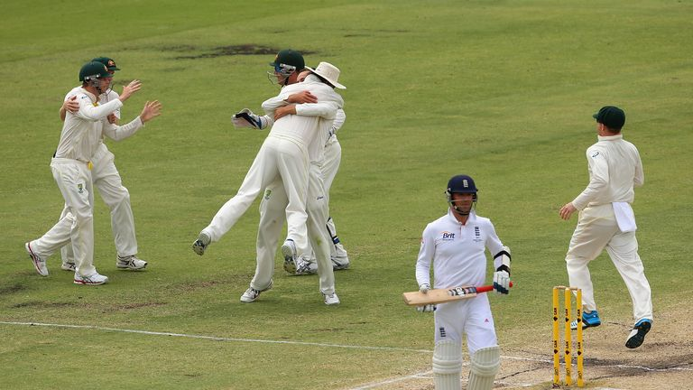 England have a torrid record at the WACA, winning just once in 1978.