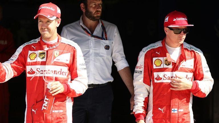 Sebastian Vettel starts third at Monza, behind Kimi Raikkonen who lines-up second