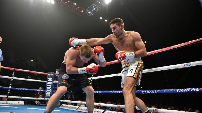 Buglioni suffered a unanimous points defeat - the second loss of his career