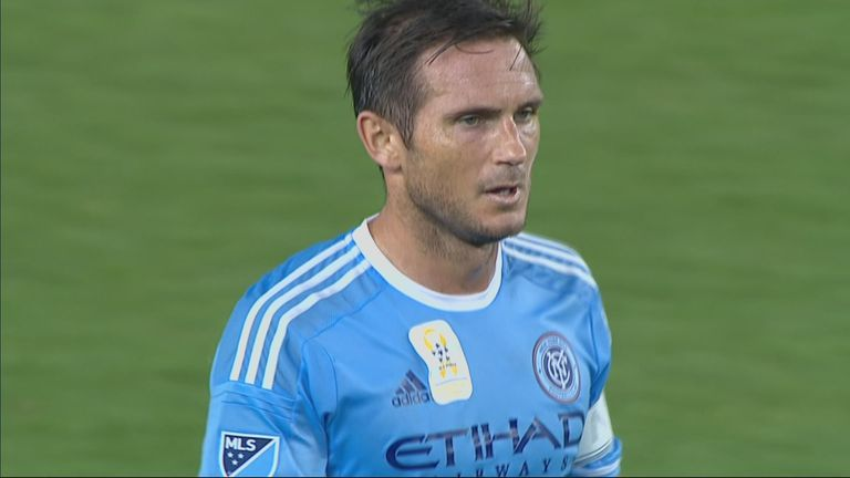 Frank Lampard has got off to a slow start at NYC FC