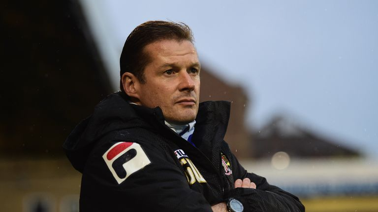 Graham Westley was pleased with Washington's performance amid interest in the striker