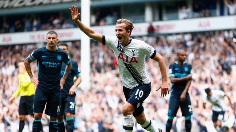 Kane ended his long wait for a goal with Tottenham's third of the game
