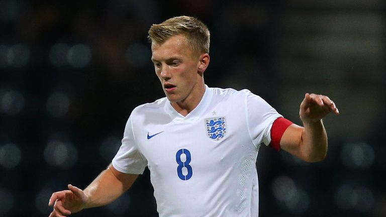 James Ward-Prowse has been called back into the England senior squad