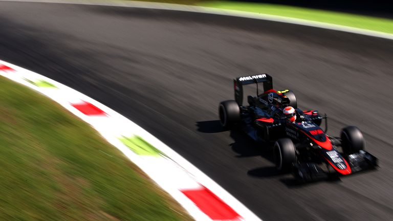 Button finished in 14th position at the Italian GP
