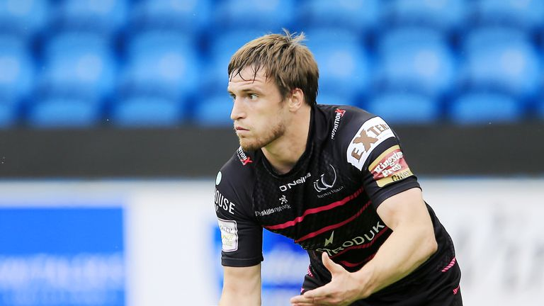 Joe Mellor scored a hat-trick for Widnes