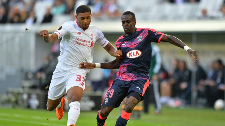 Bordeaux and Liverpool drew 1-1 when they met in France in September