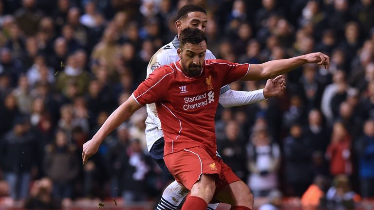 Jose Enrique made 99 appearances across five seasons at Liverpool, ending in 2016