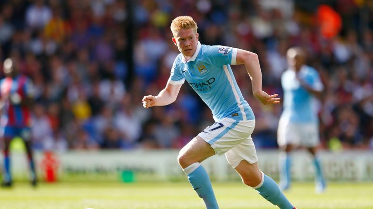 Kevin de Bruyne was among the players making their debut at the weekend