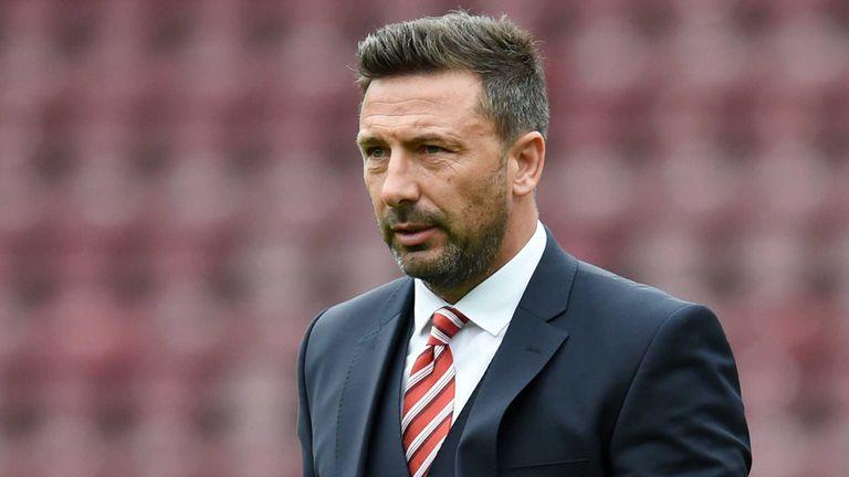 Derek McInnes has praised Ward for his efforts in Aberdeen's fine season