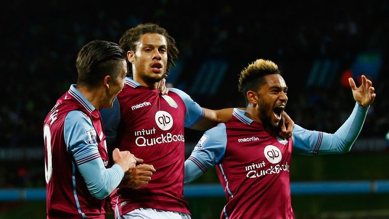 Villa improved in the second half and got the only goal of the game in the 62nd minute