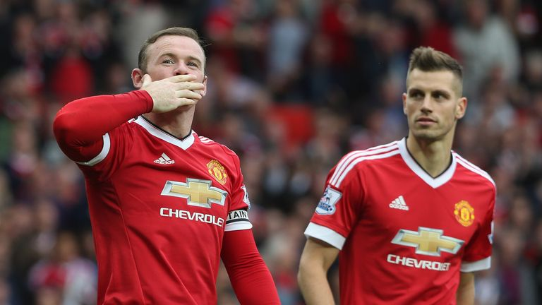 Rooney scored United's second goal as they saw off Sunderland