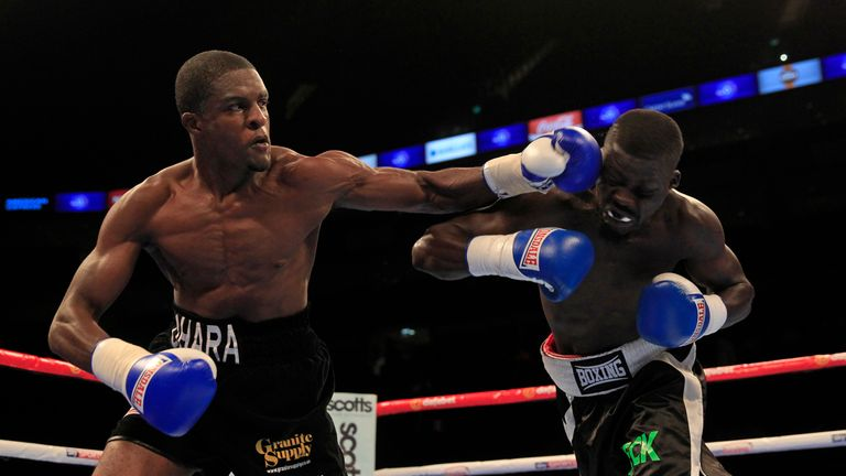 Ohara Davies was ruthless in stopping Dame Seck