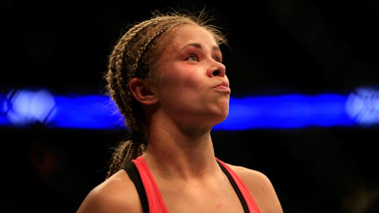 VanZant will be closer to a UFC title shot if she wins in December