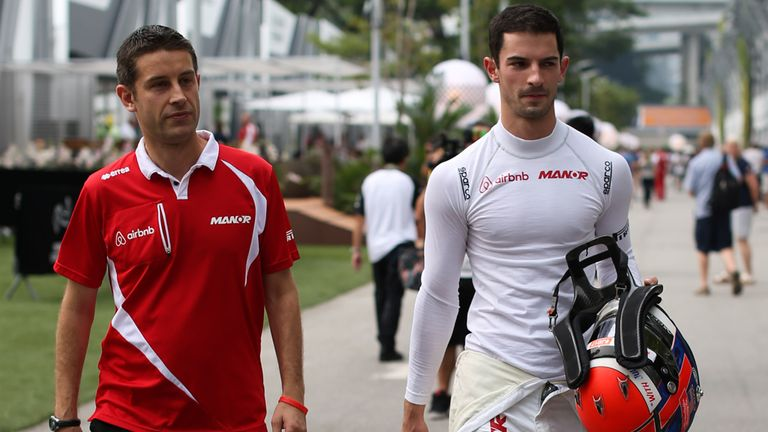 Hellmund suggested he would look to keep current Manor driver Alexander Rossi