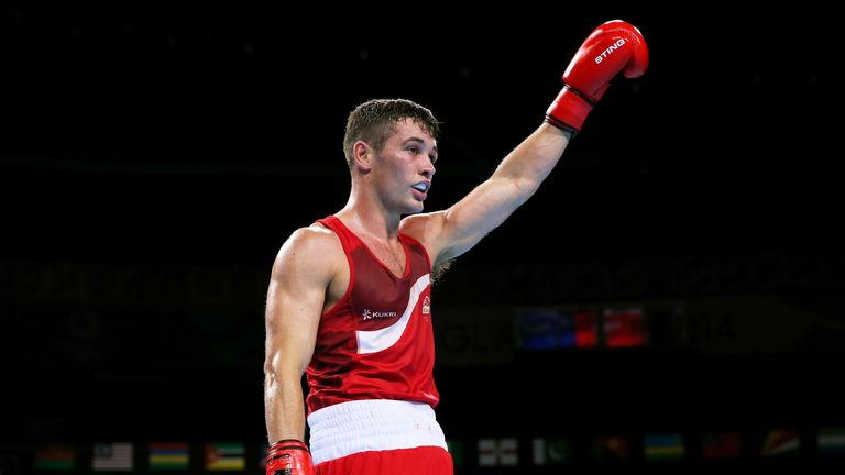Scott Fitzgerald won gold at last year's Commonwealth Games