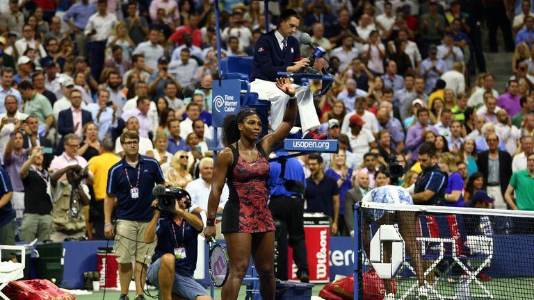 Williams beat sister Venus to reach the semi-finals
