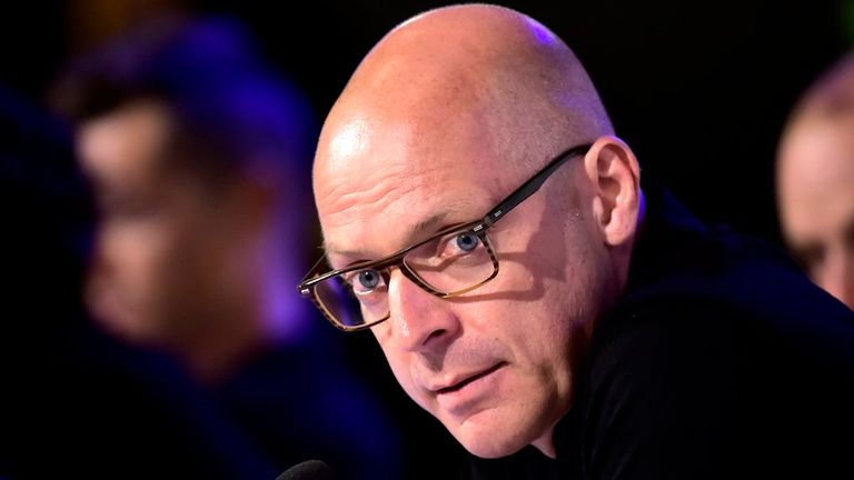 Sir Dave Brailsford is currently formulating Team Sky's plans for 2016