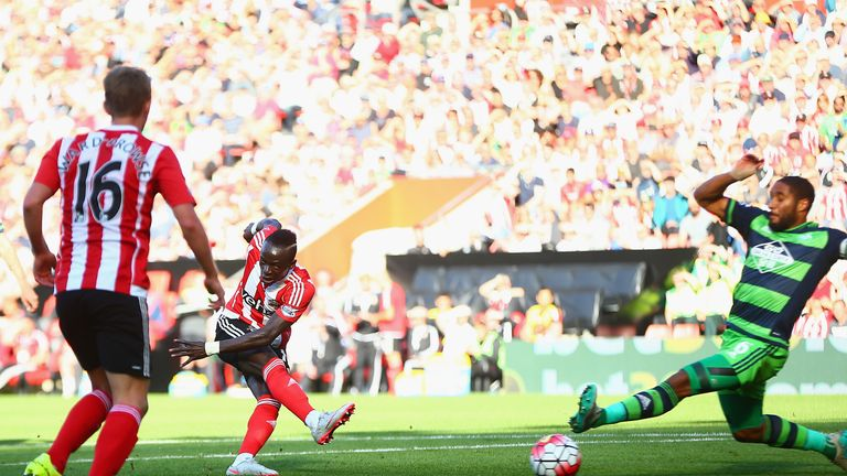 Southampton forward Sadio Mane is on fine form in the Premier League