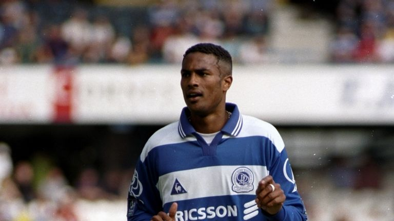 Steve Slade moved on to play for Queens Park Rangers in 1996