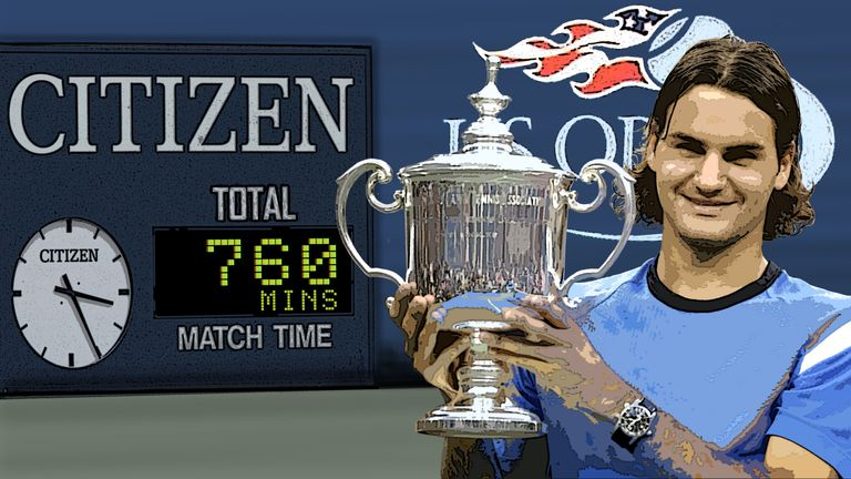 Roger Federer completed tournament victory in double-quick time