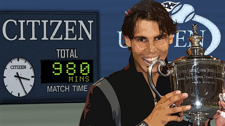 Rafa Nadal won the tournament for a second time in 2013